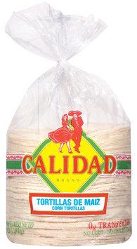 Calidad Corn Tortillas  1 Lb Bag