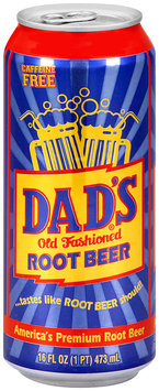 Dad's® Old Fashioned Root Beer 16 fl. oz. Can
