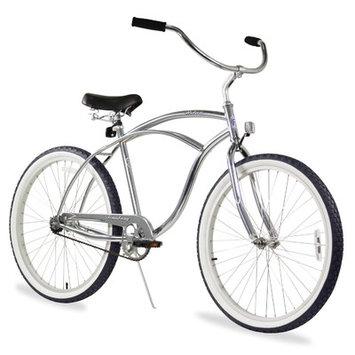 Firmstrong Men's Urban Man Alloy Single-Speed Beach Cruiser Bike