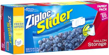 Ziploc® Slider Gallon Storage Bags 60 ct Box