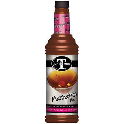 Mr. & Mrs. T® Manhattan Mix 1 L Bottle