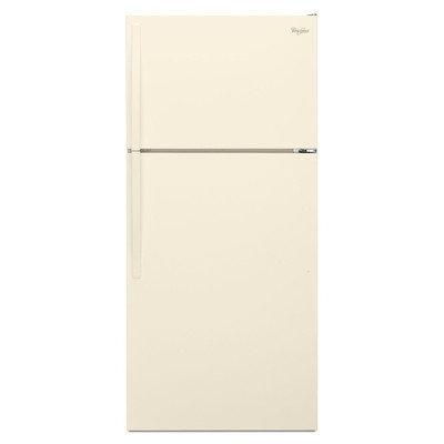 Whirlpool - 14.3 Cu. Ft. Top-freezer Refrigerator - Biscuit