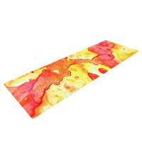 Kess Inhouse Hot Hot Hot by Rosie Brown Yoga Mat