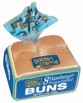 Golden Creme Hamburger Buns 12 Oz Bag