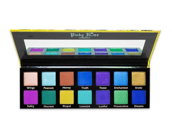 Pinky Rose™ Cosmetics Exotic Peacock Pallet