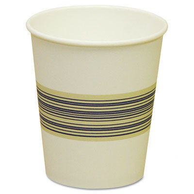 Boardwalk BWK 10SQHOTCUP Paper Hot Cup 10 Oz - Blue-Tan