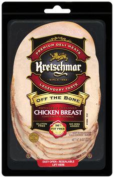 Kretschmar® Off The Bone Rotisserie Seasoned Chicken Breast Slices 8 oz.