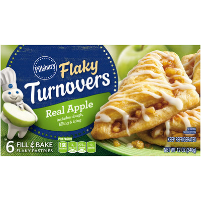 Pillsbury Apple Flaky Turnovers 6 ct Box