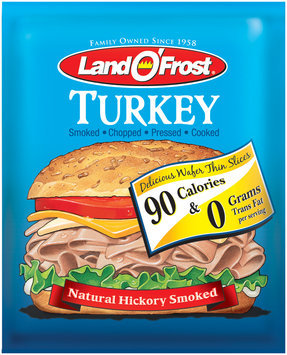 Land O' Frost 2 Oz Traditional Wafer Turkey 2 oz Package
