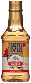 Tate + Lyle® Vanilla Zero Calorie Syrup 12.7 fl. oz. Bottle