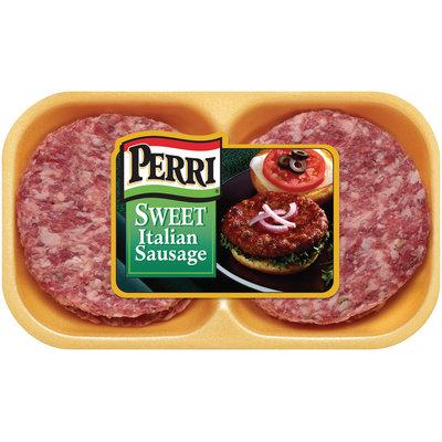 Perri Sweet Italian Sausage Patties 16oz tray (100461)