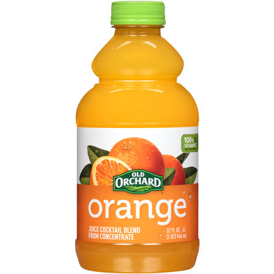 Old Orchard® Orange Juice Cocktail 32 fl. oz. Bottle
