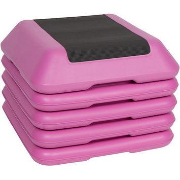 Trademark Innovations High Step 5 Piece Workout Training Set Color: Pink / Black