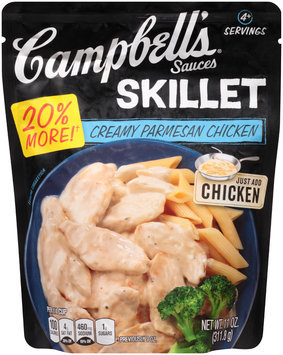 Campbell's® Skillet Sauces Creamy Parmesan Chicken 11 oz. Pouch