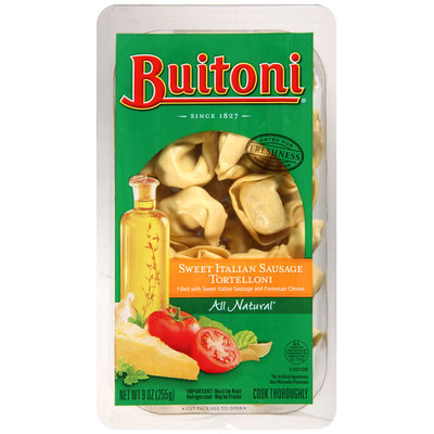 BUITONI Refrigerated Sweet Italian Sausage Tortelloni 9 oz. Tray