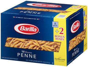 Barilla® Penne Pasta 10-1 lb. Boxes