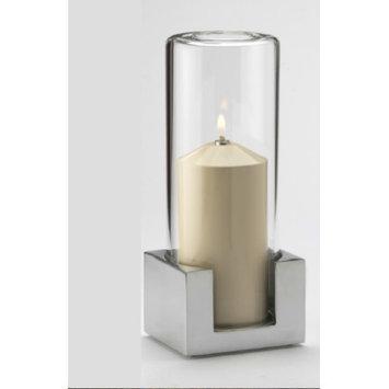 Candola Candle Size: Large, Color: Metal Chrome