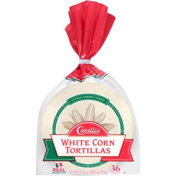 Catallia® White Corn Tortillas 33 oz. Bag