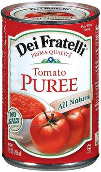 Dei Fratelli No Salt Added Tomato Puree 15 Oz Can