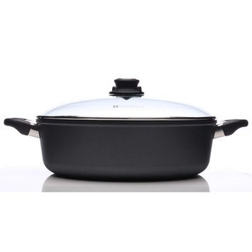 Swiss Diamond 5.3 qt. Induction Nonstick Braiser with Lid
