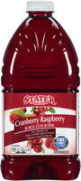 Stater Bros.® Cranberry Raspberry Juice Cocktail 96 fl. oz. Bottle