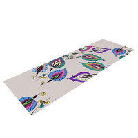 Kess Inhouse Leave by Louise Yoga Mat