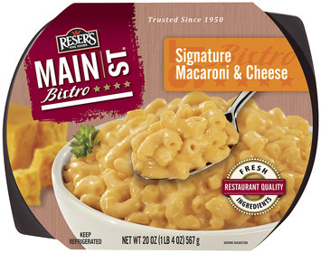 Reser's Main St. Bistro Signature Macaroni & Cheese 20 oz Tray