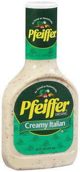 Pfeiffer® Creamy Italian Dressing 16 fl. oz.