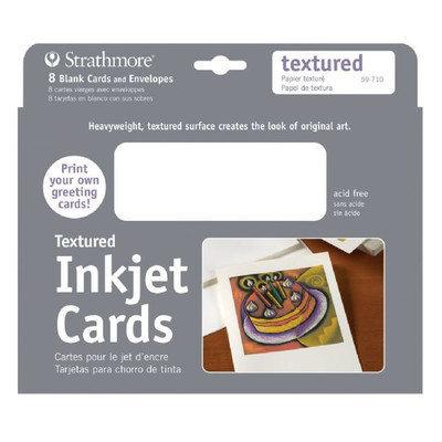 Strathmore ST59-710 5 x 7 Textured Inkjet Cards