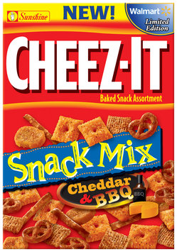 Cheez-It® Limited Edition Cheddar & BBQ Snack Mix 10.5 oz. Box