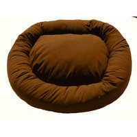 Green Living Dog Beds Green Living Eco-Friendly Bolster Dog Bed Color: Nutmeg Brown, Size: XXL