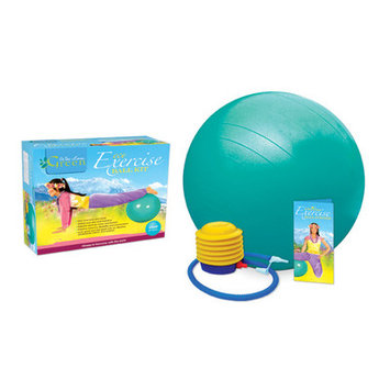 Wai Lana Productions G2101L Eco Exercise Ball Kit with Poster Large