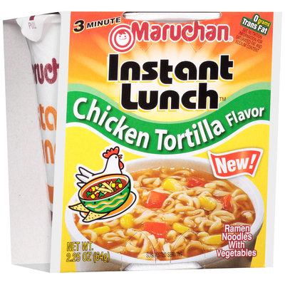 Maruchan® Instant Lunch™ Chicken Tortilla Flavor Ramen Noodles