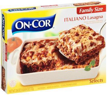 On-Cor® Family Size Italiano Lasagna 26 oz. Box