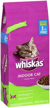 Whiskas® Indoor Cat Chicken Flavor Dry Cat Food 7 lb