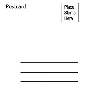 Sarasota Stamps SSF-3147 Mounted Rubber Stamp Postcard
