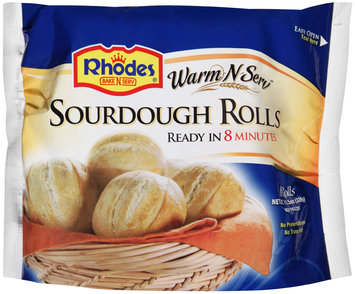 Rhodes® Warm-N-Serv™ Sourdough Rolls 6 ct. Bag