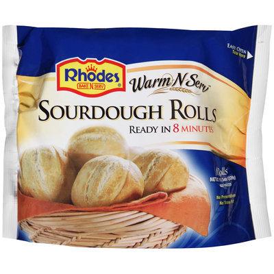 Rhodes® Warm-N-Serv™ Sourdough Rolls 6 ct. Bag