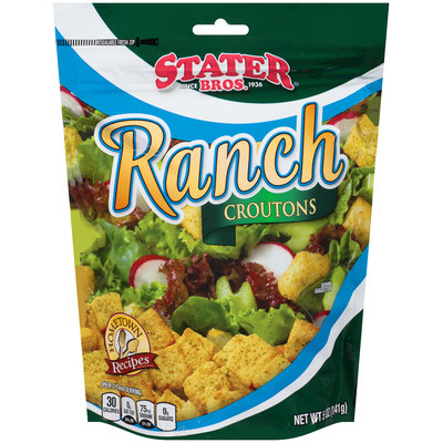 Stater Bros.® Ranch Croutons 5 oz. Bag
