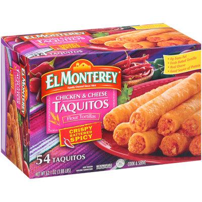 El Monterey® Crispy Battered Spicy Chicken & Cheese Taquitos 54 ct Box