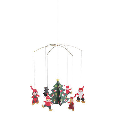 Flensted Mobiles Christmas Pixy Family Mobile