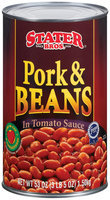 Stater Bros. In Tomato Sauce Pork & Beans