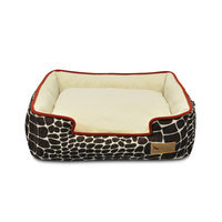 PLAY Kalahari Brown Lounge Dog Bed Medium