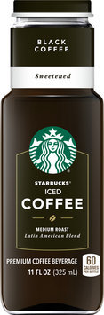 Starbucks® Black Sweetened Iced Coffee 11 fl. oz.