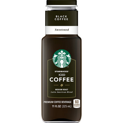 Starbucks® Black Sweetened Iced Coffee 11 fl. oz.