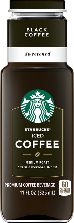 Starbucks Black Sweetened Iced Coffee