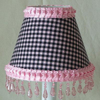 Silly Bear Gingham Table Lamp Shade