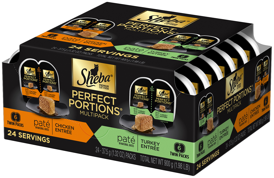 Sheba® Perfect Portions® Cat Food Multipack 24-1.32 oz. Trays