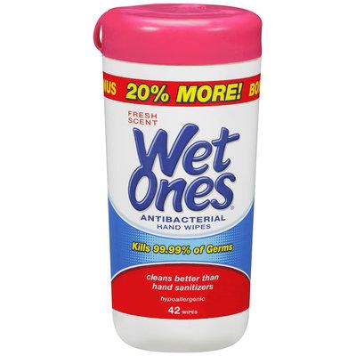 Wet Ones® Fresh Scent Antibacterial Hand Wipes 42 ct.