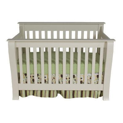 Kidz Decoeur Augusta Convertible Crib Finish: White